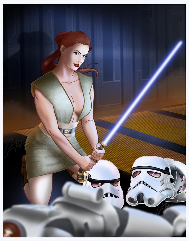 Jedi Babe