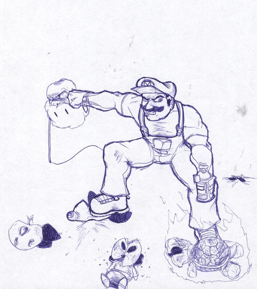 Is'a Me Mario!