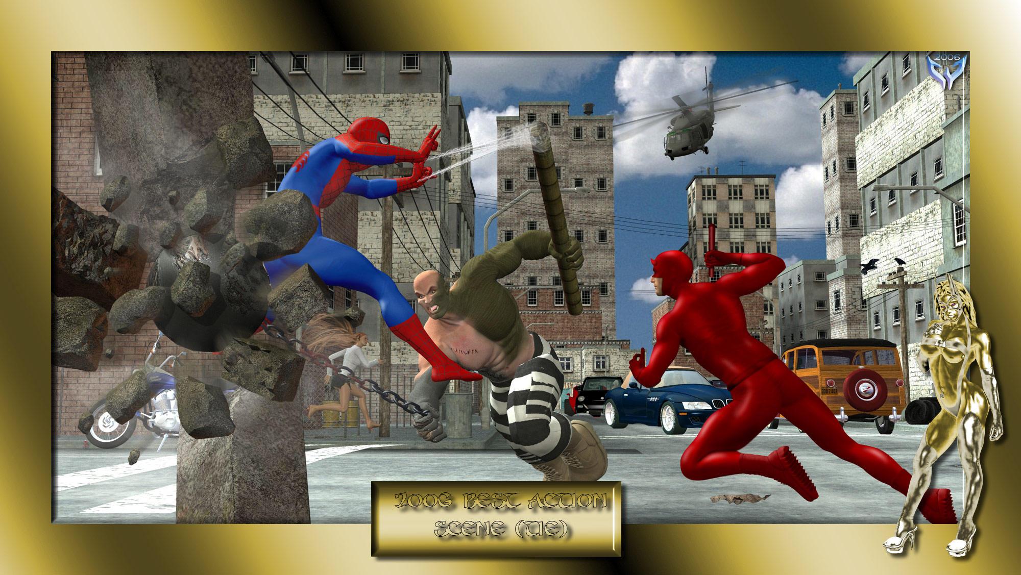 2006 Best Action Scene (tie)