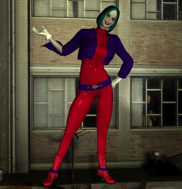 Duela Dent/Tangent Joker