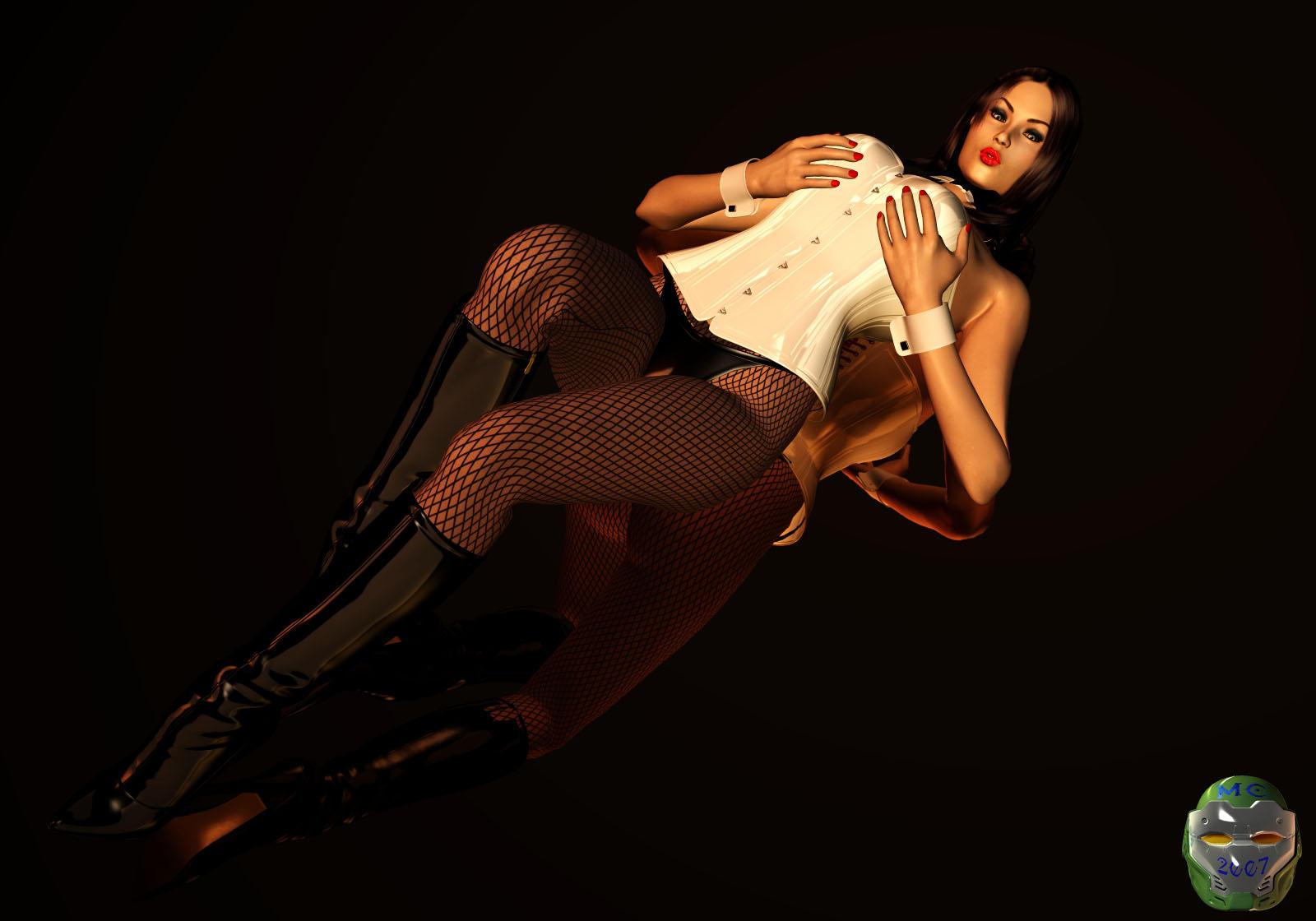 Zatanna pin-up shoot