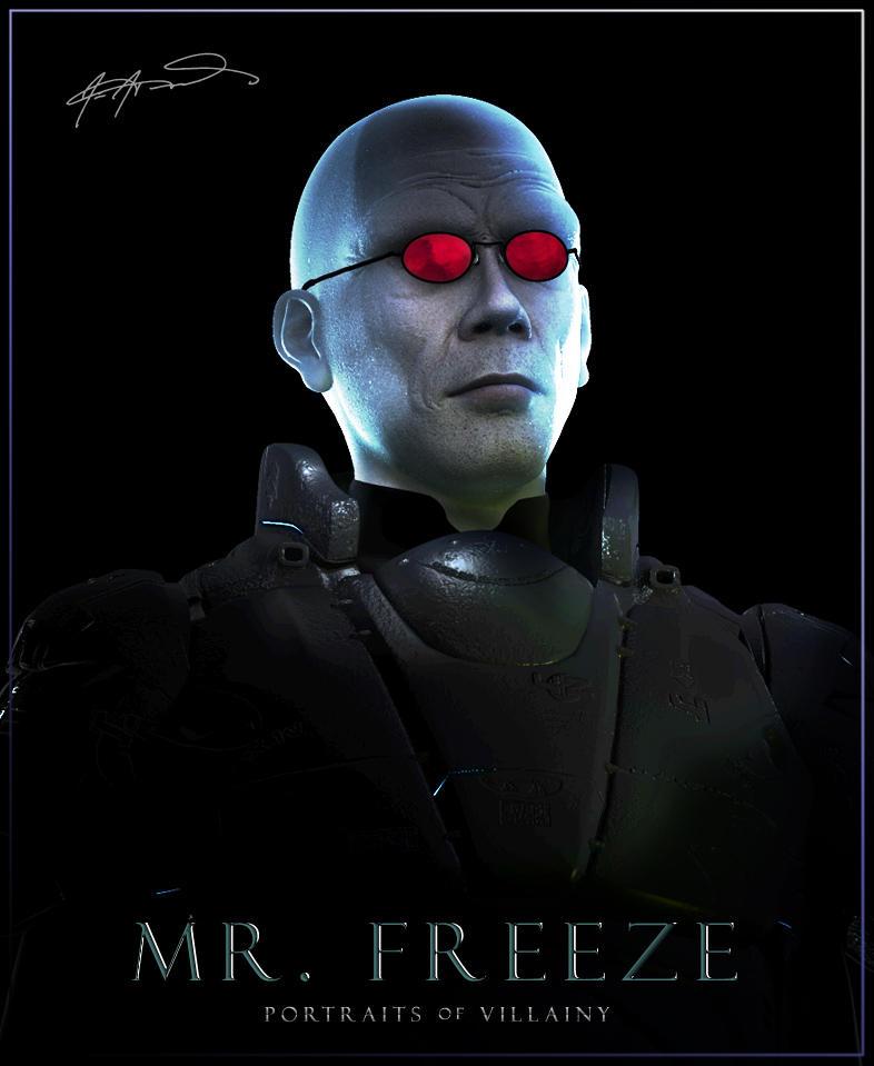 Portraits of Villainy: Mister Freeze