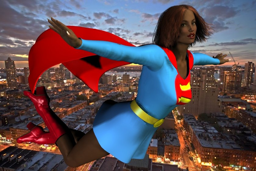 Supergirl Earth D