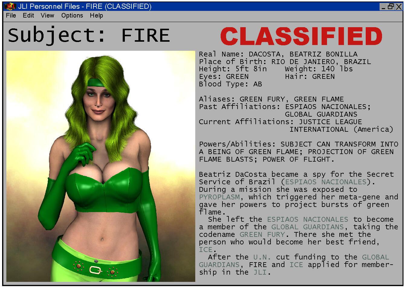 JLI Classified: FIRE