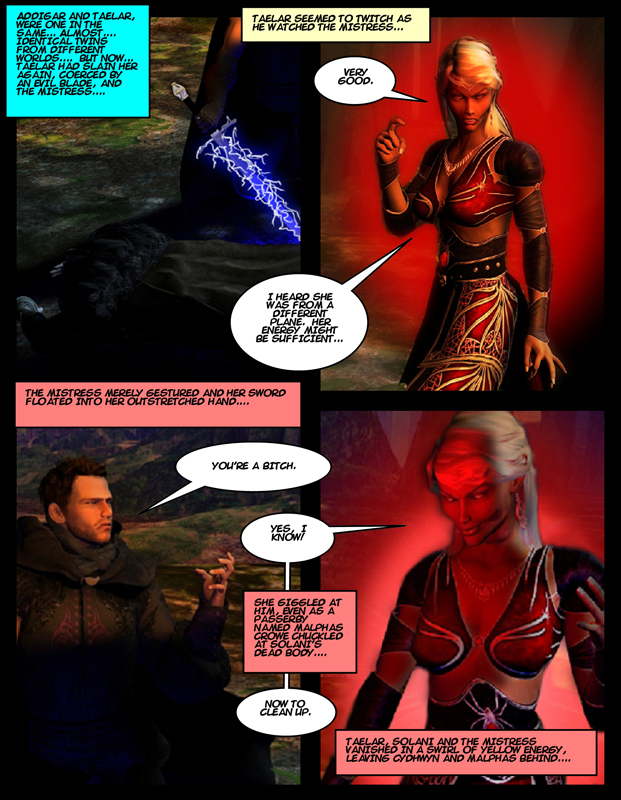 """""""The Adventures of Solani Darlan-Aranstar"""" Issue 3, Page 23"""