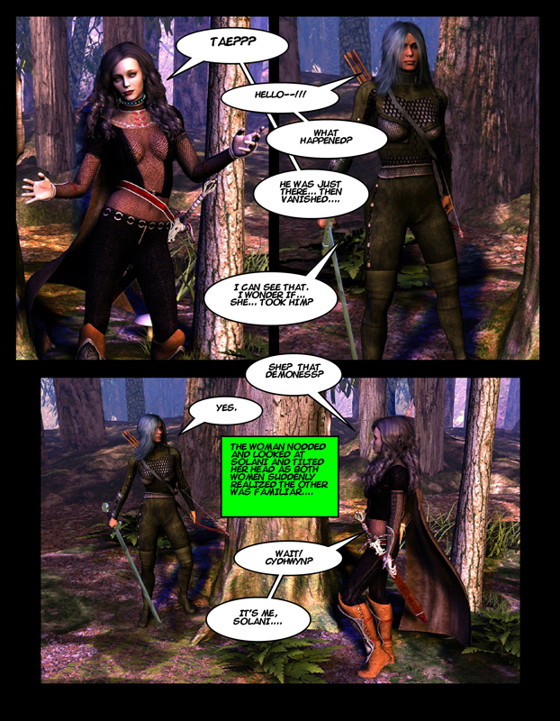 """The Adventures of Solani Darlan-Aranstar"" Issue 3, Page 4"