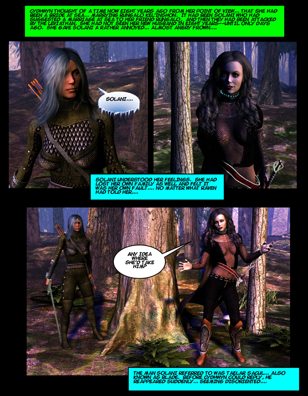 """""""The Adventures of Solani-Darlan Aranstar"""" Issue 3, Page 5"""