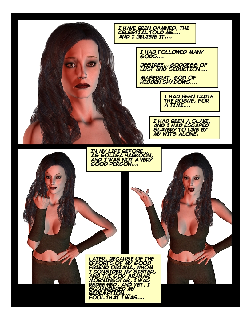 """""""The Adventures of Solani Darlan-Aranstar"""" Issue #1 Page 4"""