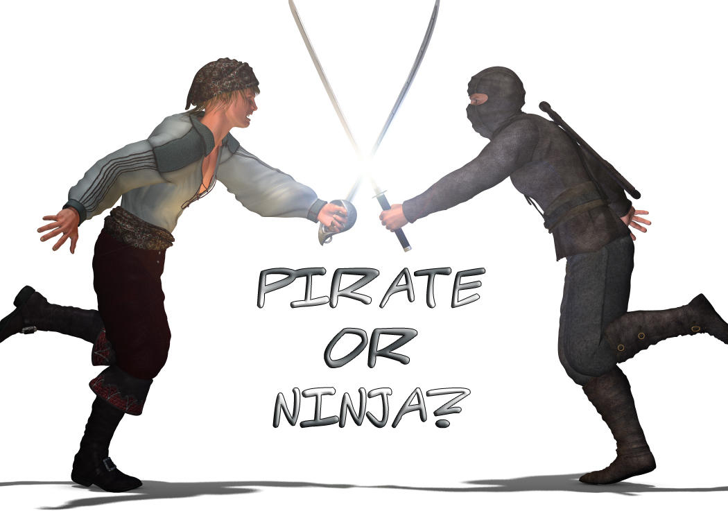 Pirate Vs. Ninja