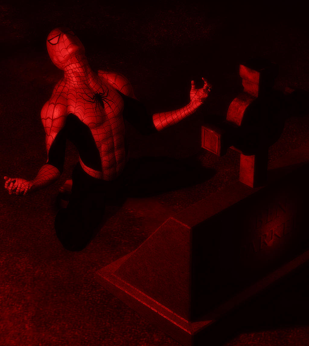 Spiderman - The Grave