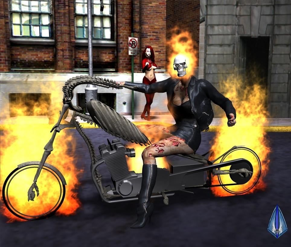 Female Ghost Rider