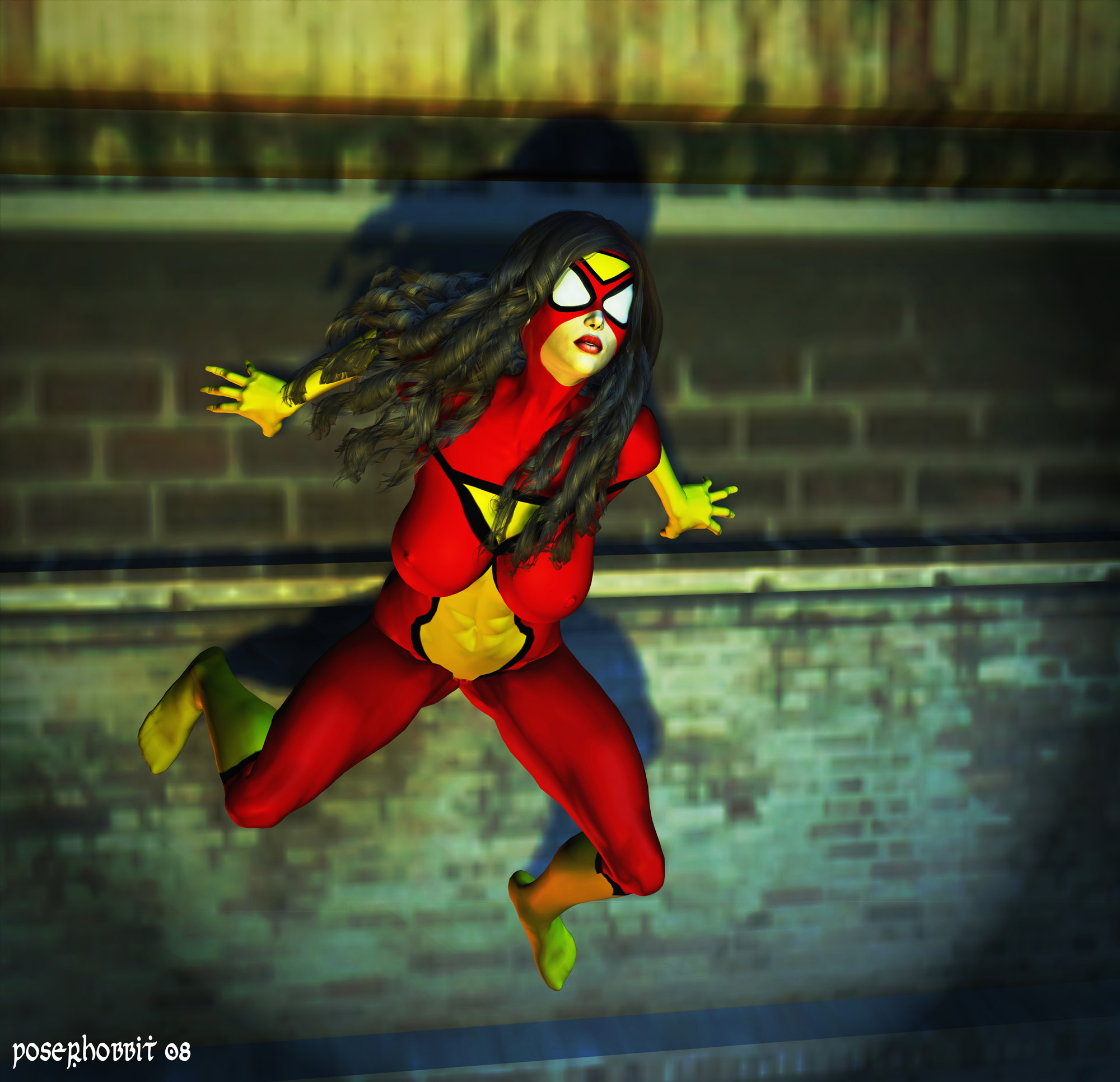 The Spectacular Spider Woman