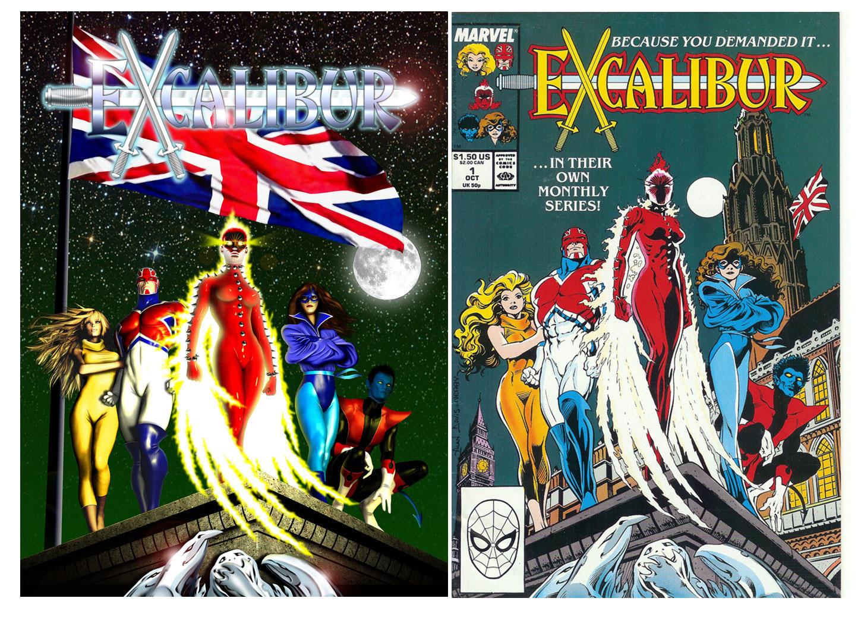 Excalibur (After Alan Davis)