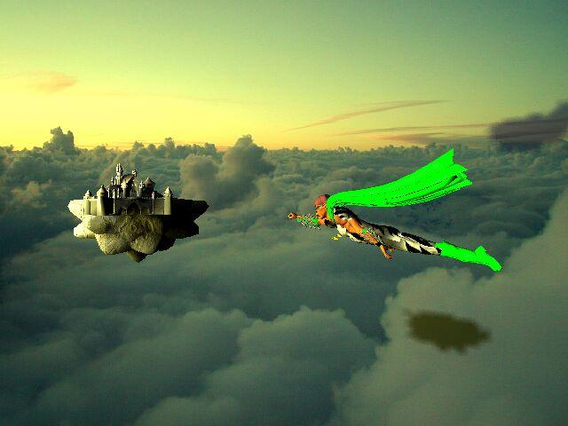 Castle in the sky take two