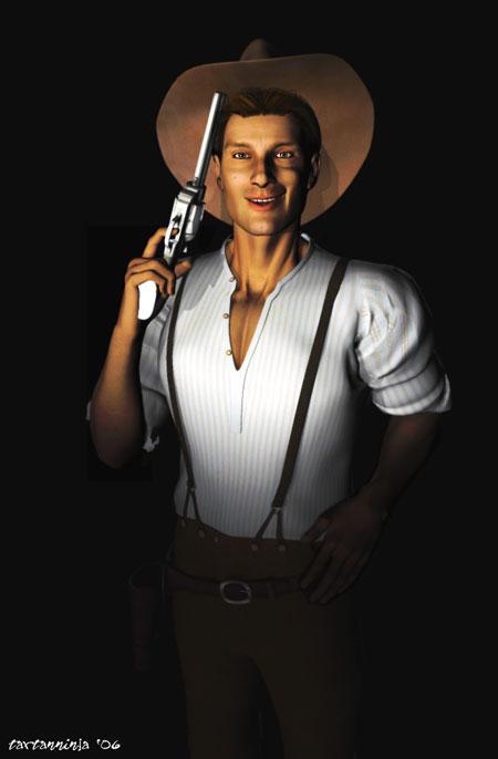 Pulp Fiction - The Cowboy
