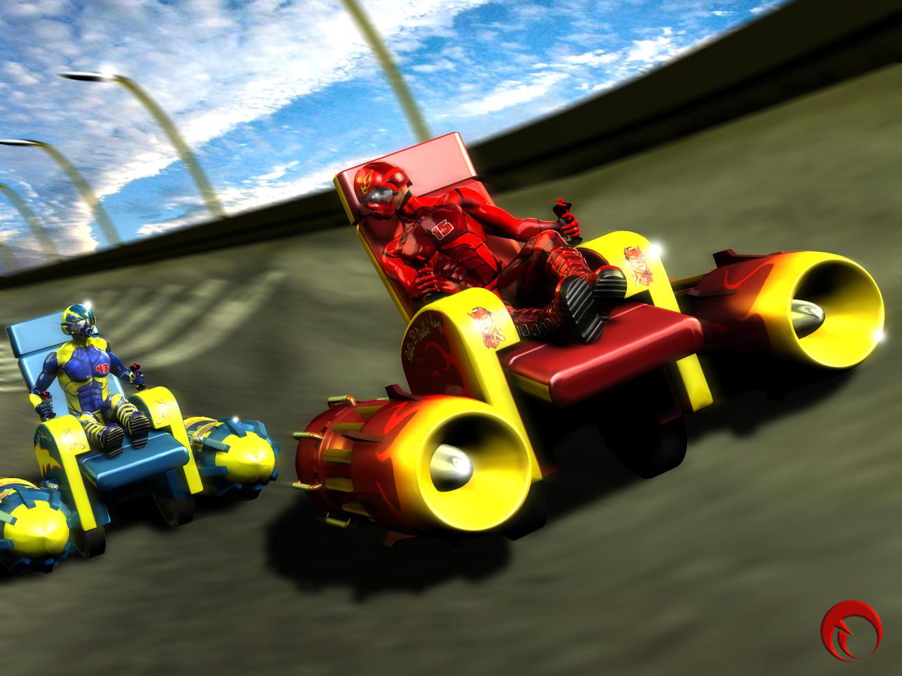 Olympic Recliner Races / Heromorph Challenge #4