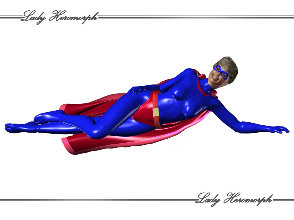 The New Lady Heromorph - April Fools day Joke 2008