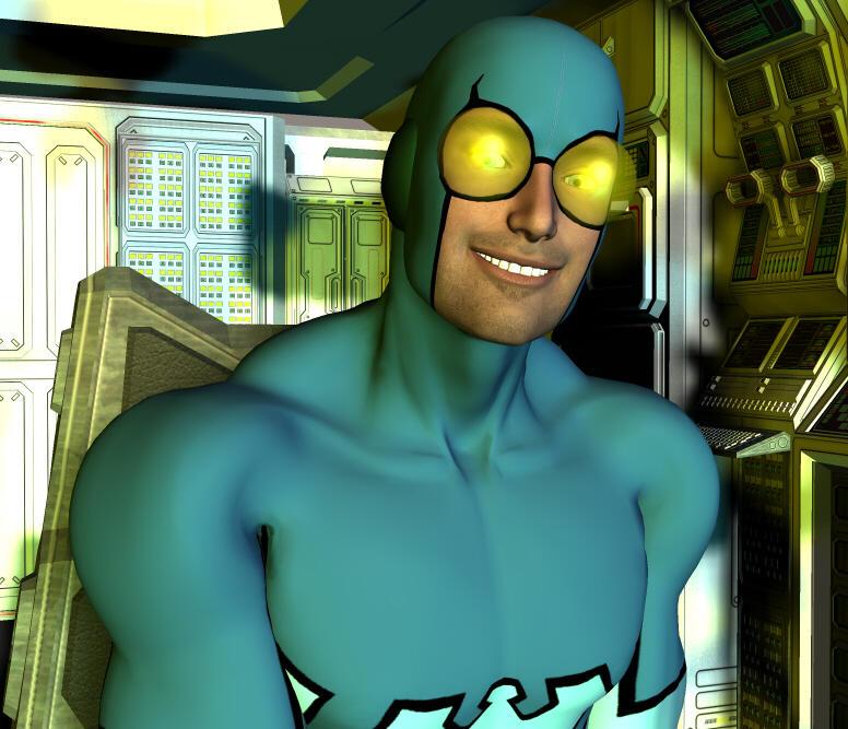 SUPERHERO SMACKDOWN: In the Bug