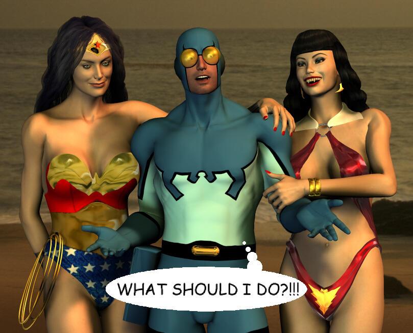 Superhero Smackdown: Seduction of the (Semi-)Innocent