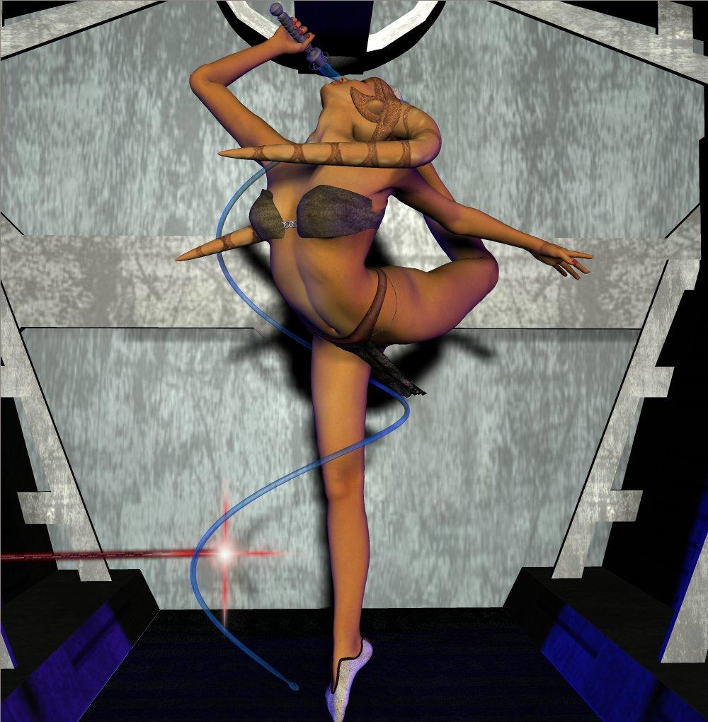 Twi'lek Battle Dancer