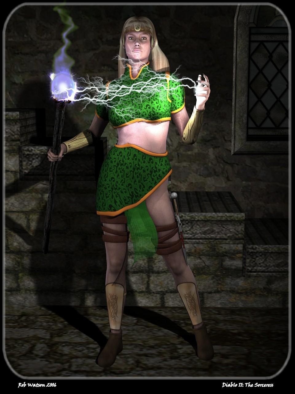 Diablo II - The Sorceress