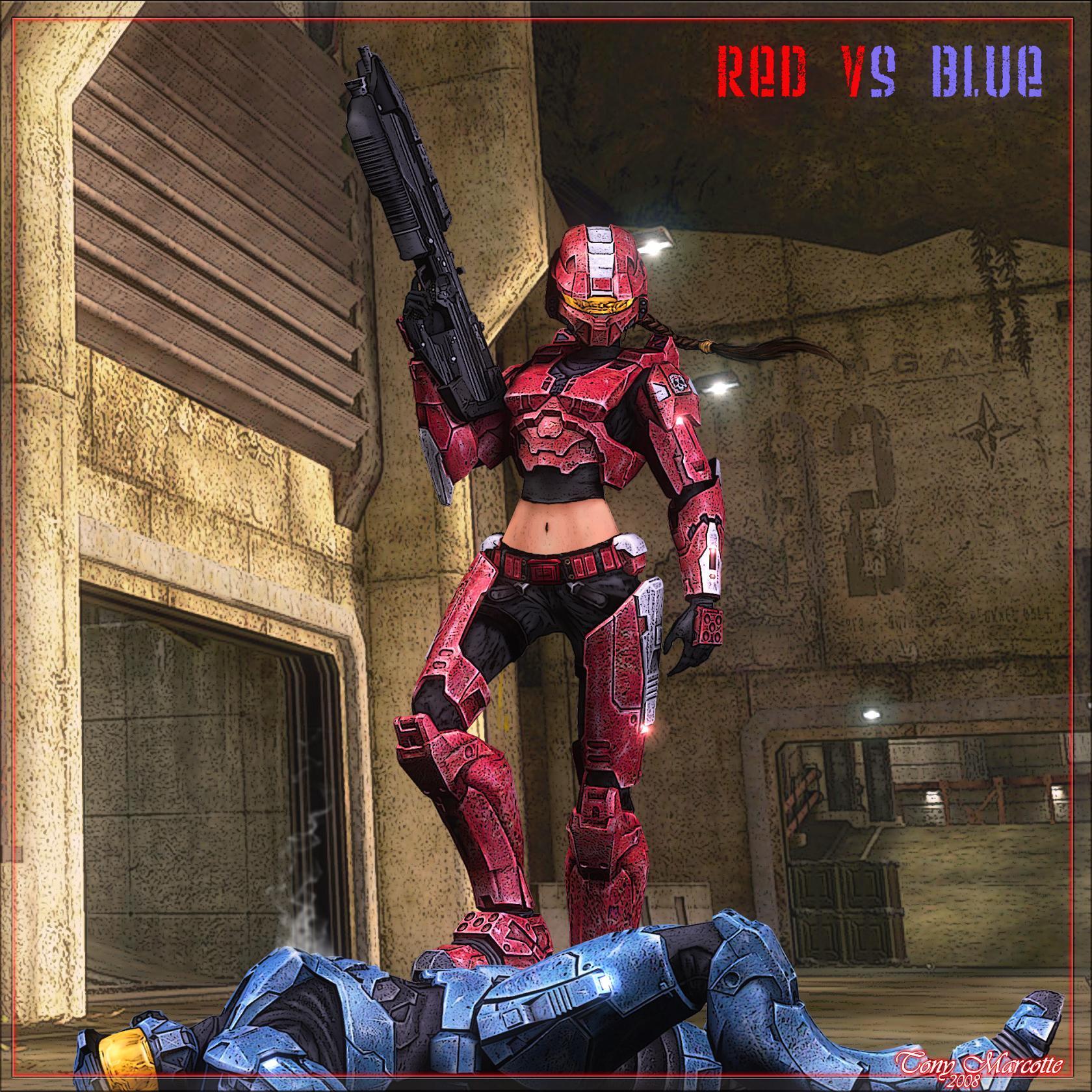 RedVsBlue CharacterWip