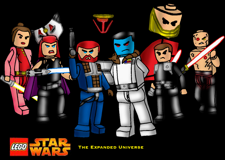 LEGO the expanded universe
