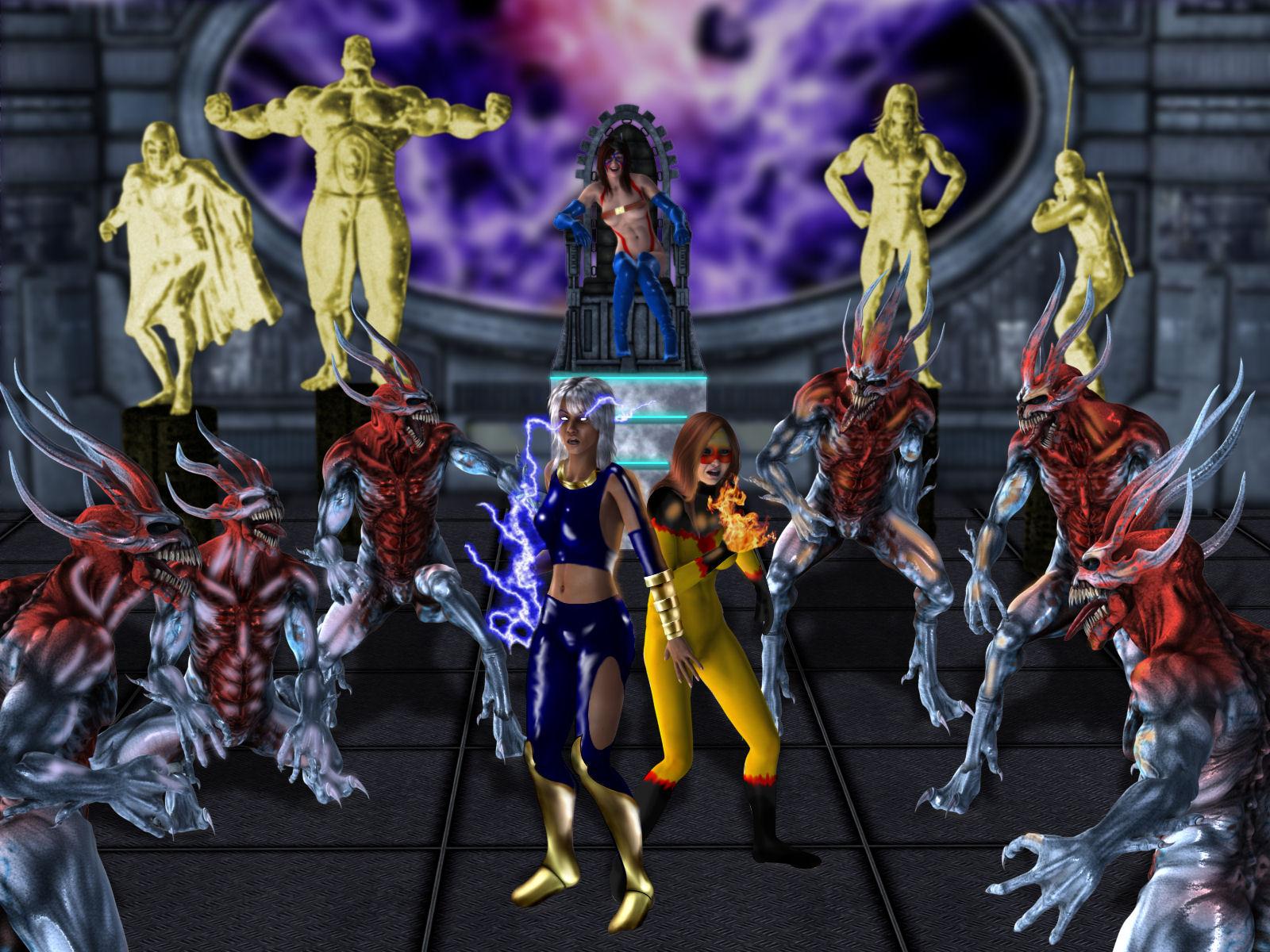 Heroes in Peril by DarkWanderer and Tartaninja