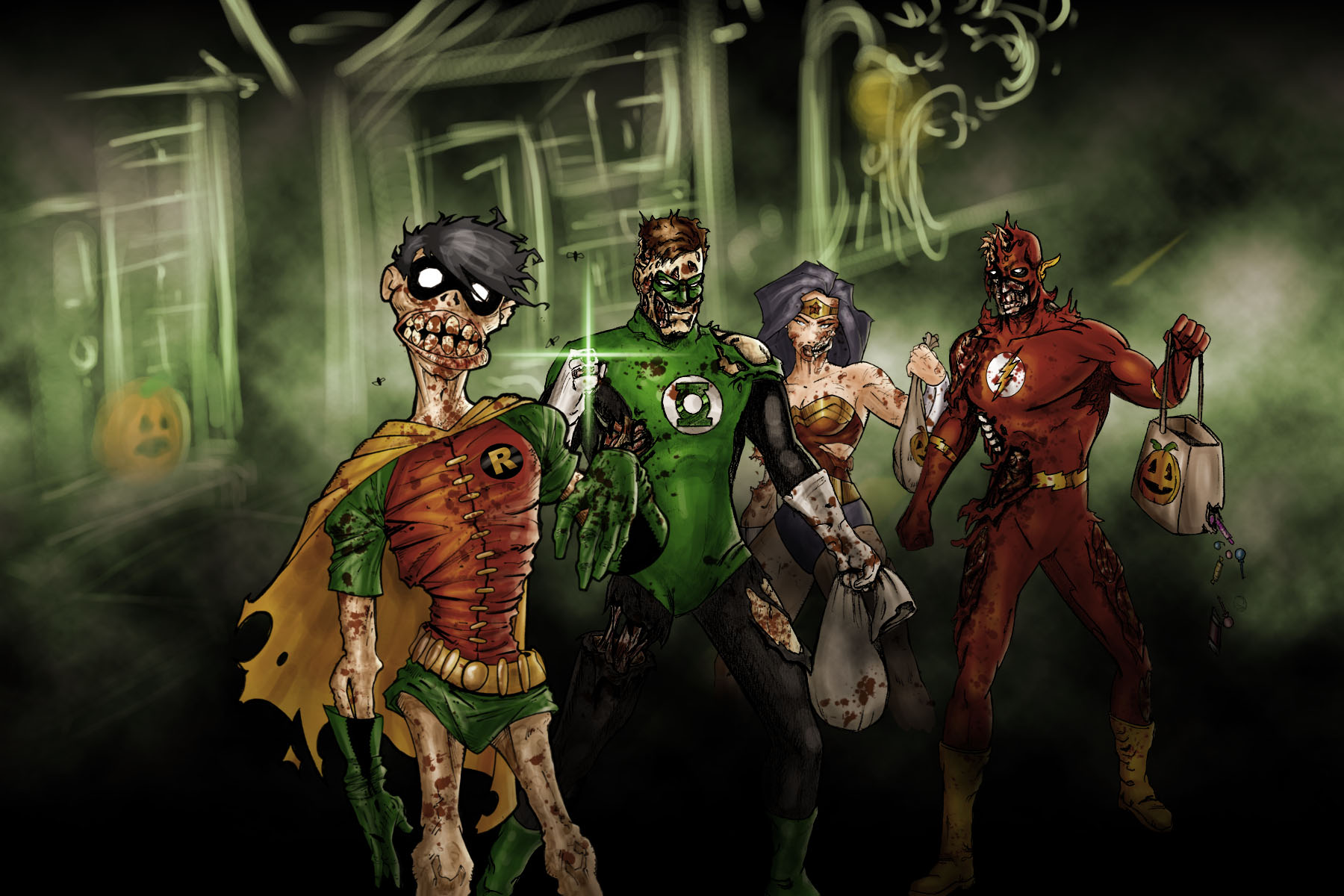 DC Zombies by ODS and Darqueimages
