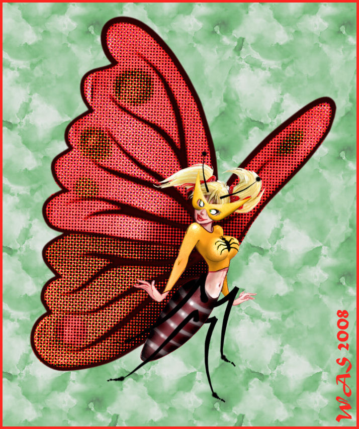 Dean Yeagle Inspired - Insect Queen Mandy