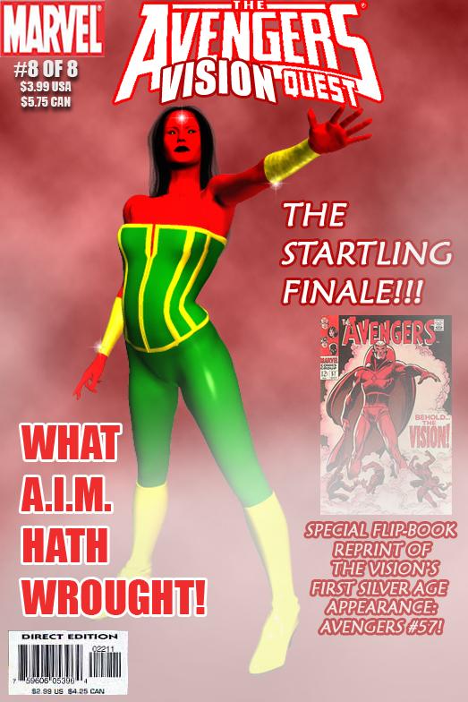 Earth 6160 Avengers Mini Series last issue