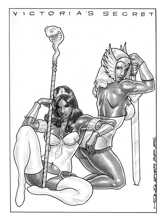 SEXY SHE-RA & TEELA