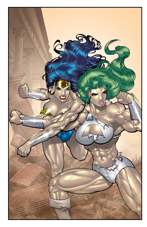 SEXY WONDER WOMAN vs. APEX (PART 2)