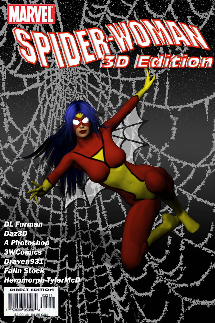 Spider-Woman 3D Edition