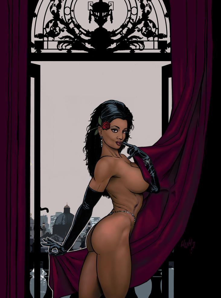 The Black Queen In Nova Roma