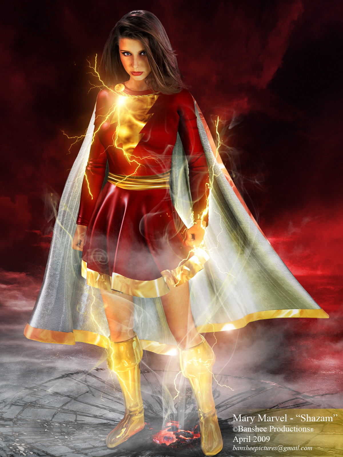 "Mary Marvel - ""Shazam"""