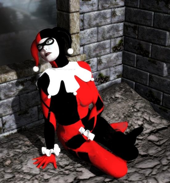 Sad Harley Quinn