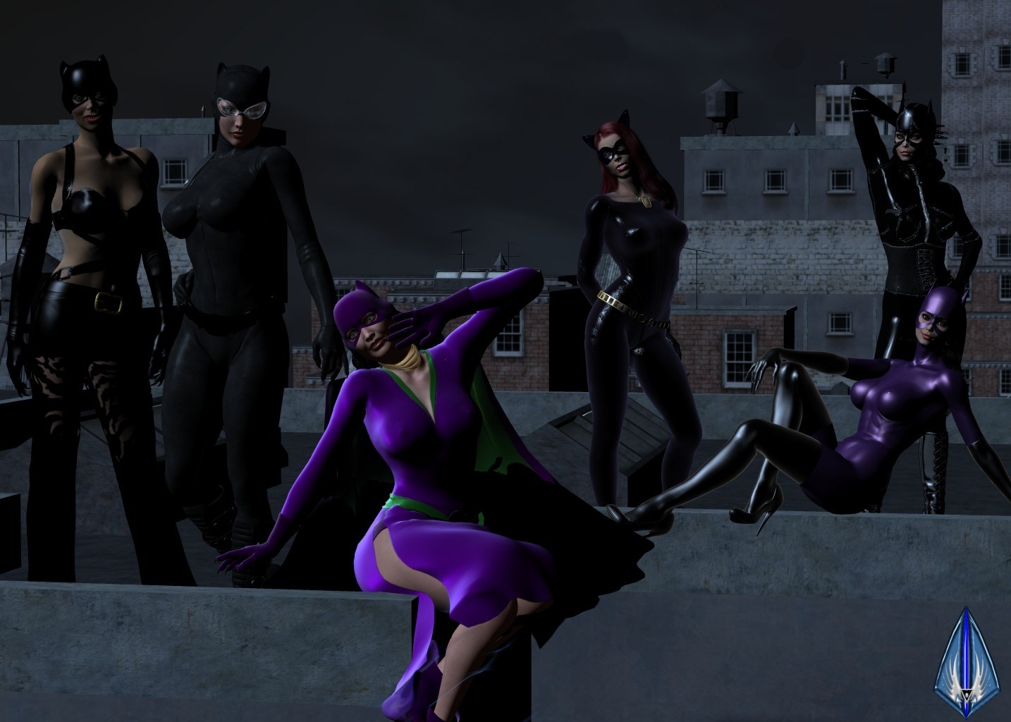 Catwoman's Costume