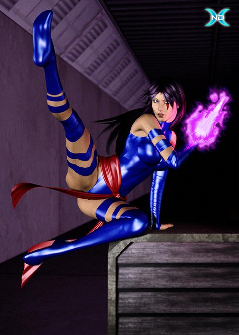 Psylocke: Comic-Verse
