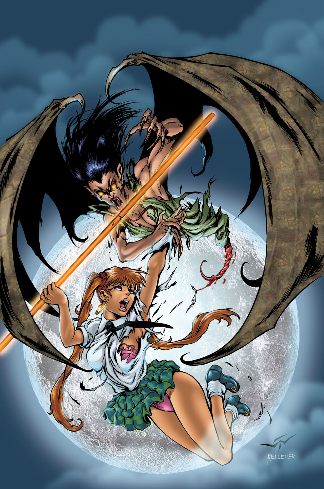 BANZAI GIRL VS. THE MANANANGGAL!