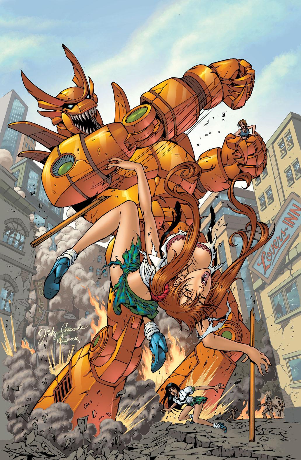 BANZAI GIRL: AYE, ROBOT!