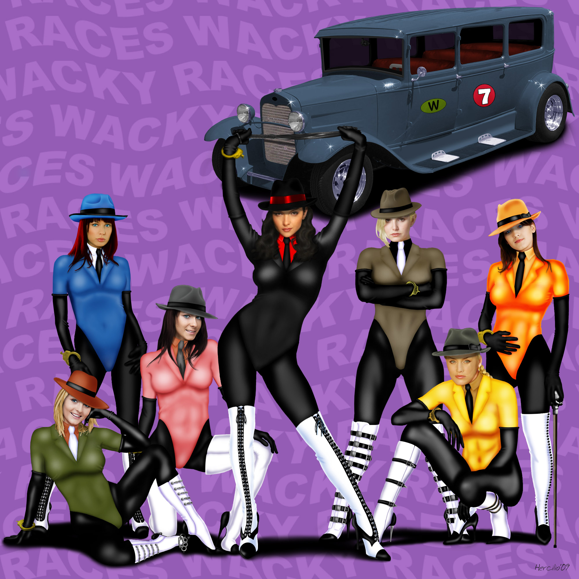 Wacky Races - car 07