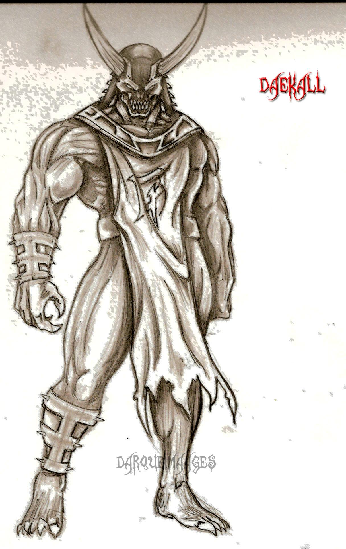 Character Concept: Daekall