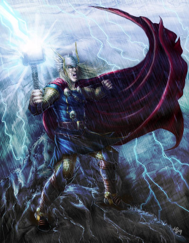 THOR Lightning storm - Final