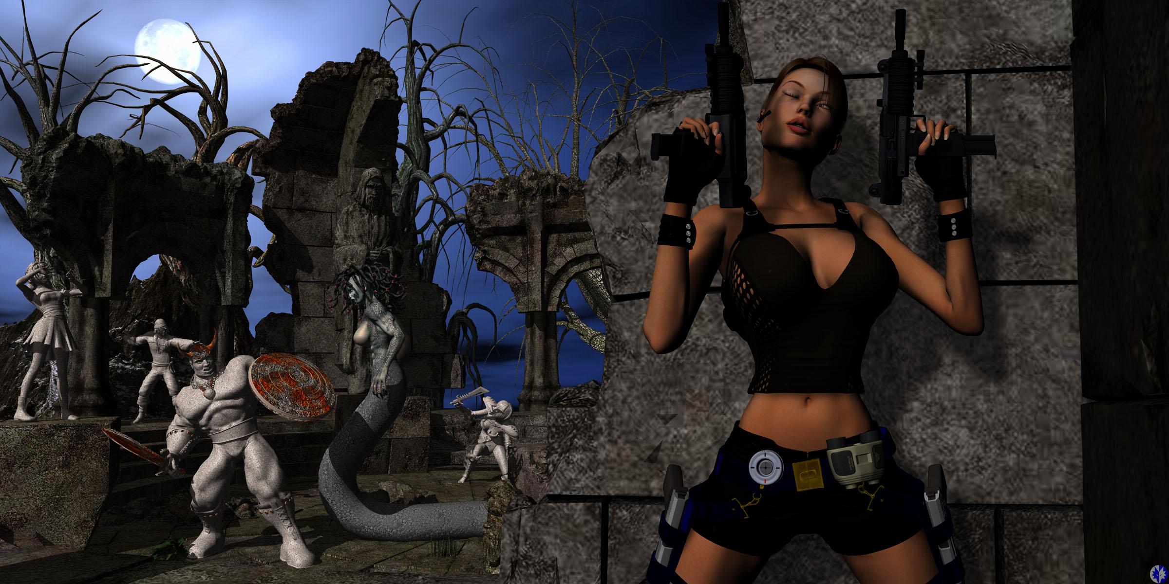 Lara croft tied pornos download