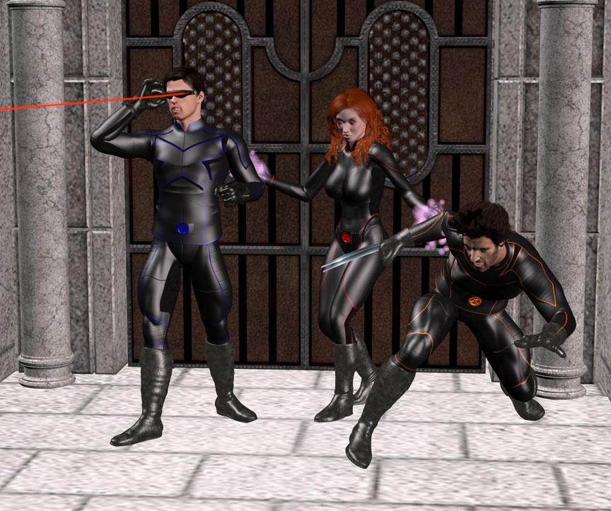 X-Men in Action