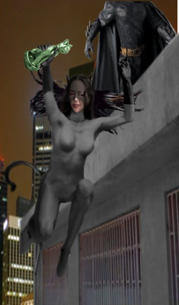 Catwoman Escapes