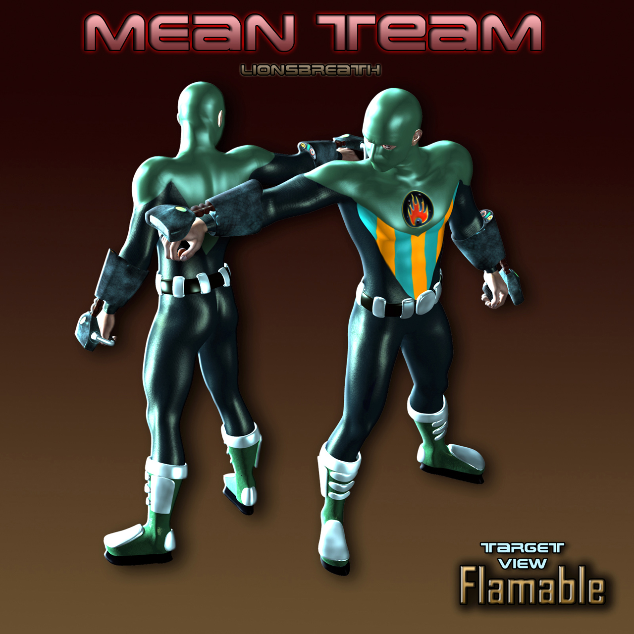 Mean Team Flamable