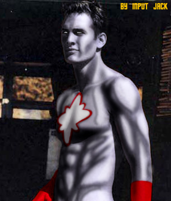 Captain Atom (played by Captain Awesome)