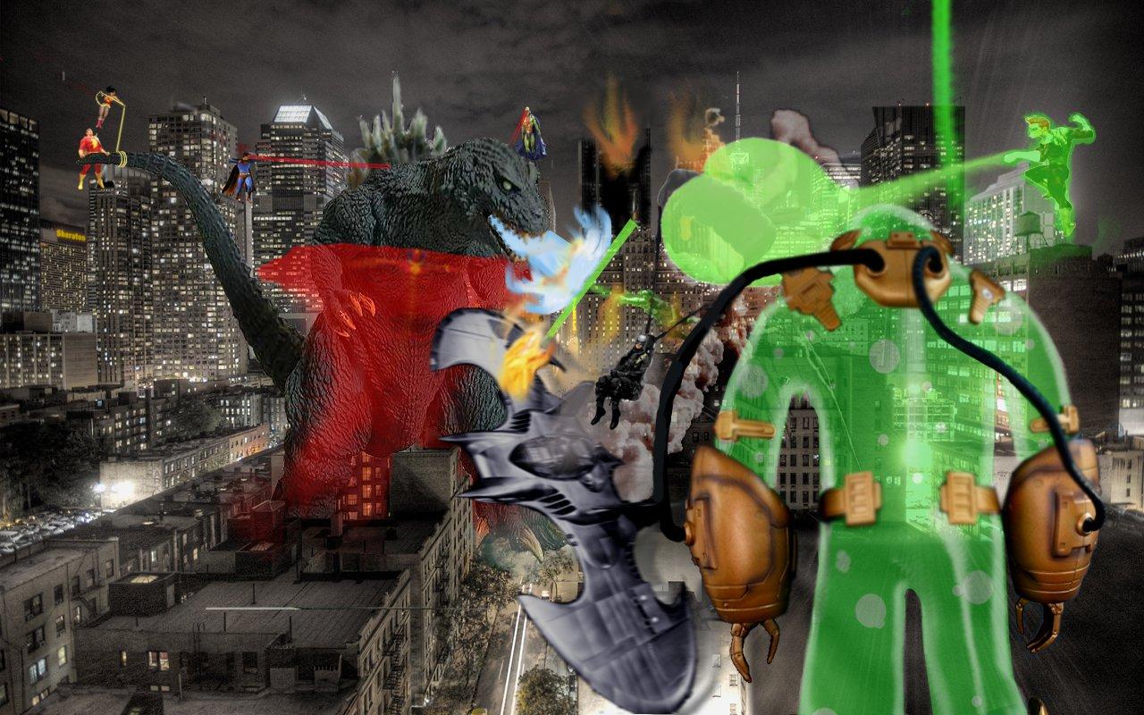 Godzilla vs the DCU